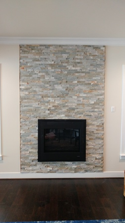 Crofton Maryland Fireplace Surround